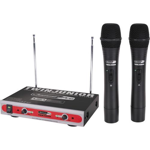 Jammin TwinJunior Dual-Channel VHF Wireless Microphone