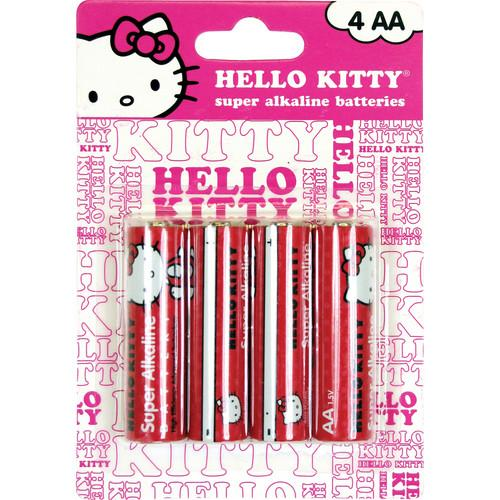 Sakar Hello Kitty Super AA Alkaline