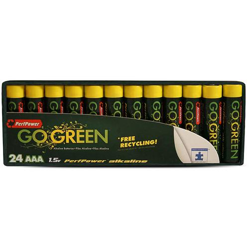 PerfPower Go Green AAA Alkaline Batteries