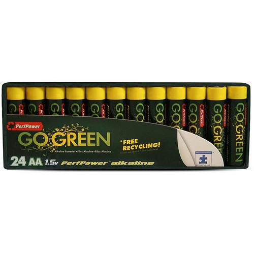 PerfPower Go Green AA Alkaline Batteries