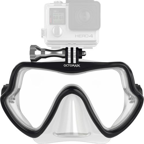 OCTOMASK Frameless Scuba Mask for GoPro