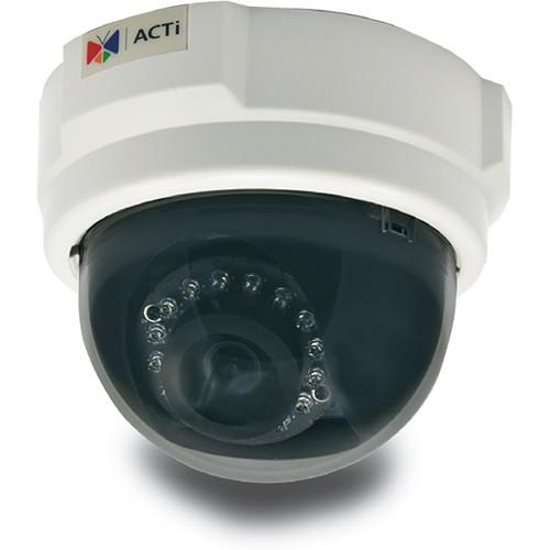 ACTi E58 2MP Day Night 1080p IR Indoor IP Dome Camera with 3.6mm Fixed Lens