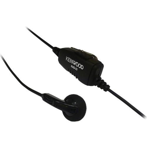Kenwood KHS-33 Clip Mic with Earphone for PKT-23
