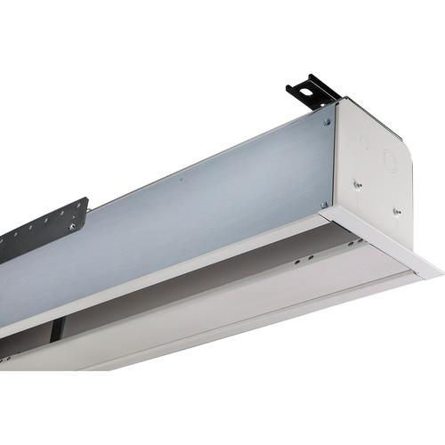 "Draper 140028Q Access FIT Series V 54 x 96"" Ceiling-Recessed Motorized Screen with Quiet Motor"