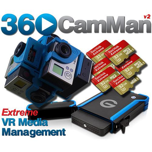 360RIZE 360CamMan V2 VR Media Management