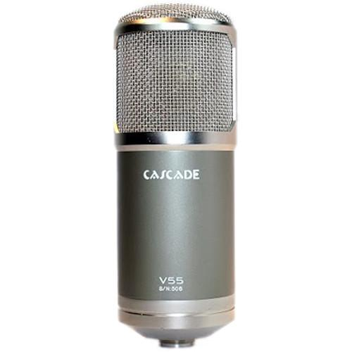 Cascade Microphones V55 Large-Diaphragm Multi-Pattern Tube