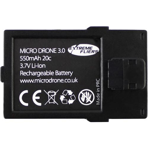 Extreme Fliers 550mAh LiPo Flight Battery for Micro Drone 3.0