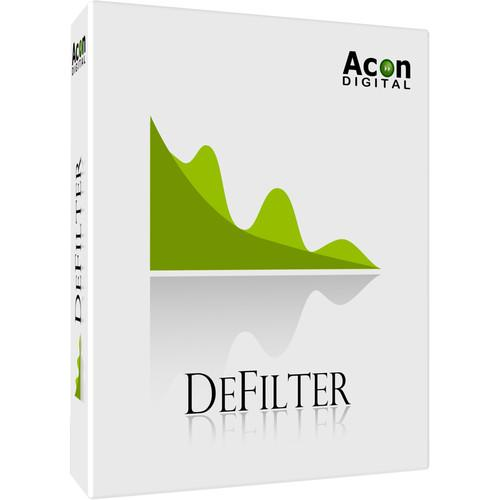 Acon Digital DeFilter - Automatic Equalization