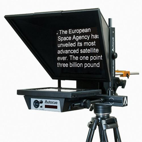 "Autocue QTV MSP12MWARP 12"" Bottom-Mounted Master Series Prompter"