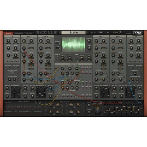 u-he Bazille Large Modular Software Synth