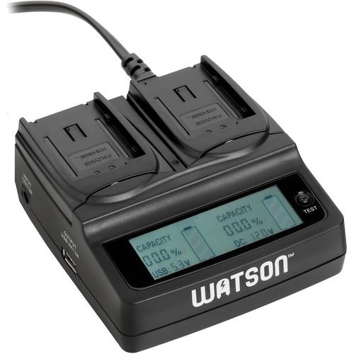 Watson Duo LCD Charger for VW-VBG6
