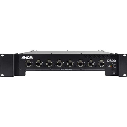 Aviom D-800-Dante A-Net Distributor with A-Net