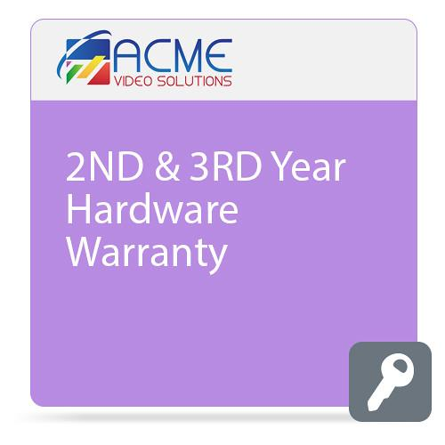 ACME VIDEO SOLUTIONS Additional 2-Year Hardware