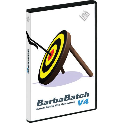 Audio Ease BarbaBatch V4 - Sound