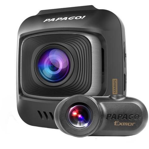 Papago GoSafe S780 2-Channel 1080p Dash