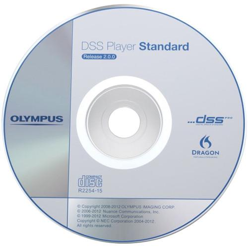 Olympus DSS Player Standard R2 Dictation Module Software