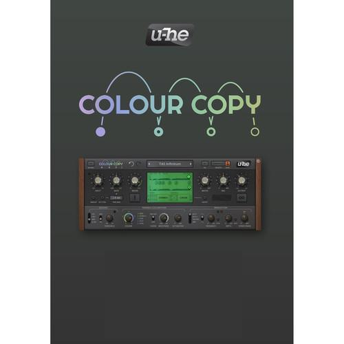 u-he Colour Copy - Analog-Style Delay