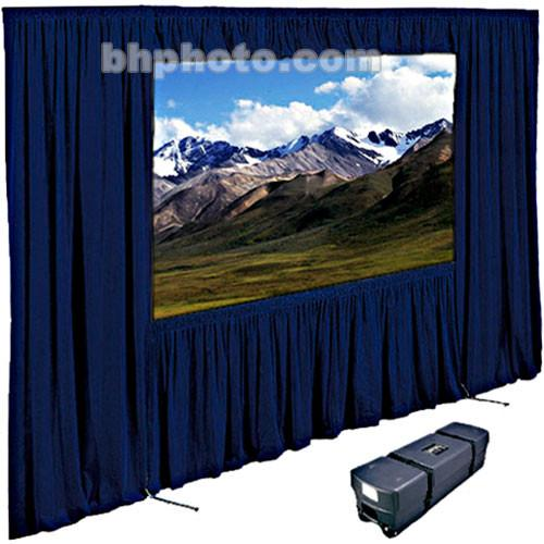 "Draper Dress Kit for Ultimate Folding Projection Screen with Case - 144"" x 144""- Navy"