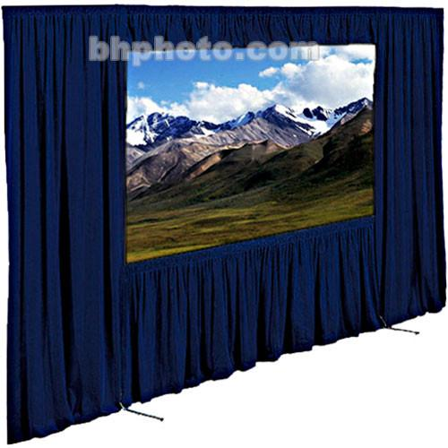 "Draper Dress Kit for Ultimate Folding Projection Screen without Case - 56 x 96"" - Navy"