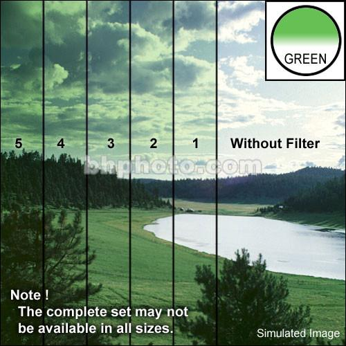 "Tiffen 4 x 5"" 3 Green Hard-Edge Graduated Filter"
