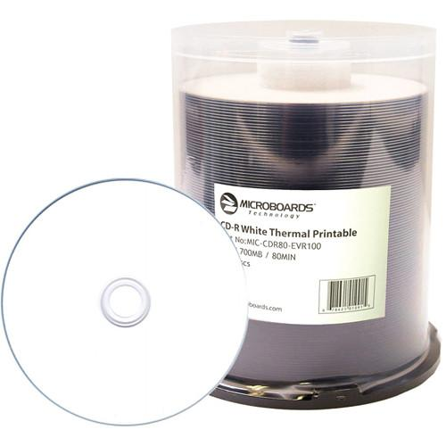 Microboards Printable 52x CD-R For Rimage