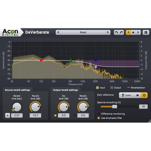 Acon Digital DeVerberate 2 - Reverb