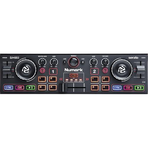 Numark DJ2GO2 Pocket DJ Controller with