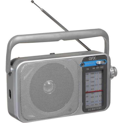 QFX R-24 Portable AM FM SW1