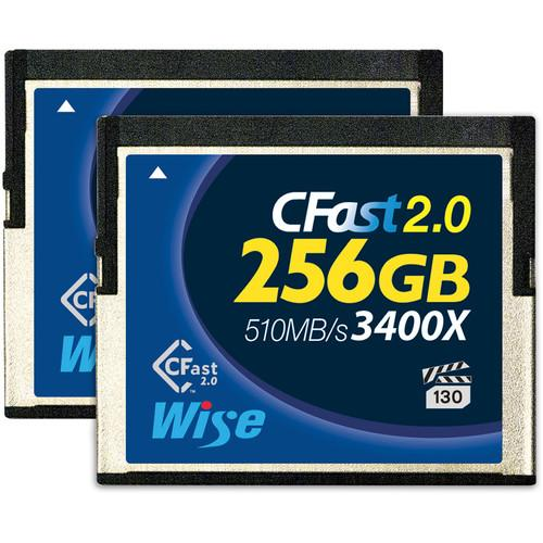 Wise Advanced 256GB CFast 2.0 Memory