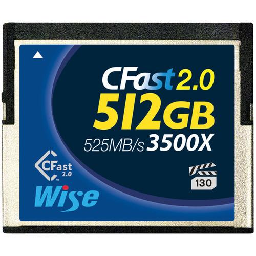 Wise Advanced 512GB CFast 2.0 Memory