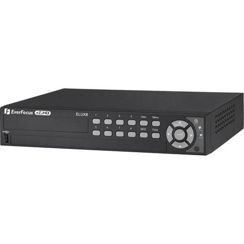 EverFocus 8-Channel 1080P Hybrid DVR