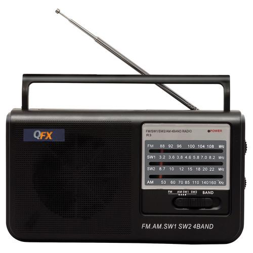 QFX R-3 Portable AM FM SW1