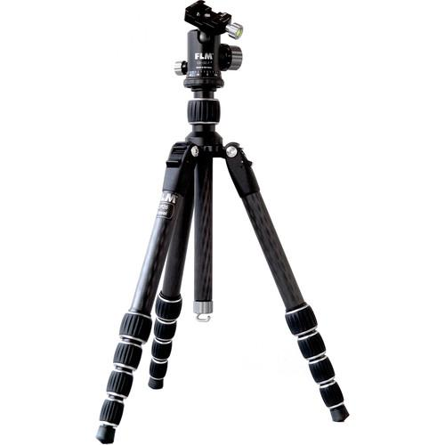 FLM CP26-Travel Carbon Fiber Tripod with