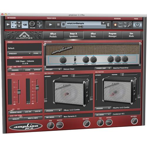 AUDIFIED ampLion Pro Guitar Amplifier and