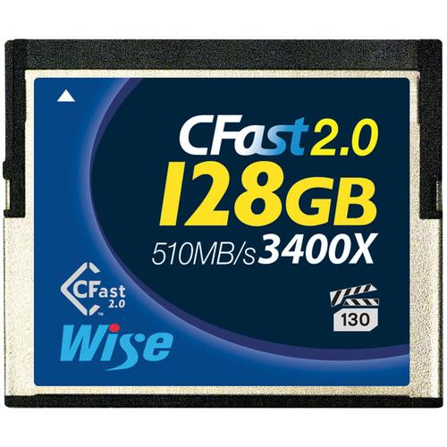Wise Advanced 128GB CFast 2.0 Memory