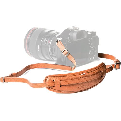 "Barber Shop Leather Camera Neckstrap ""Moustache"""