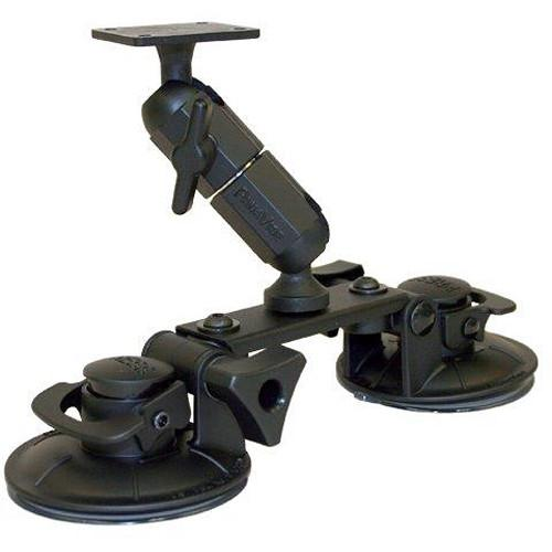 PANAVISE Double Suction Cup Mount with