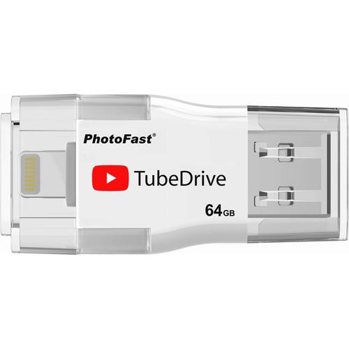 PhotoFast TubeDrive Portable YouTube Storage &