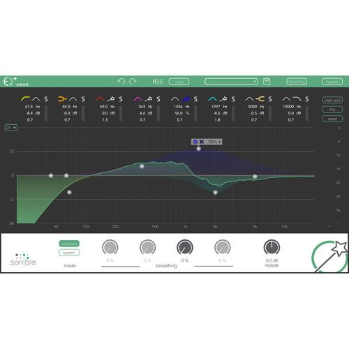 Sonible Smart:EQ - Intelligent Equalization Software