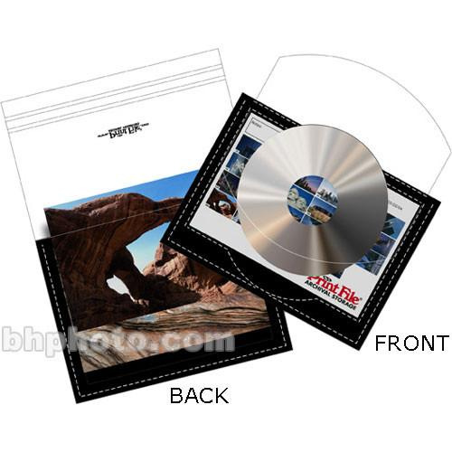 "Print File CD Preserver - for 1 CD DVD or 4x6"" Index Card and 36 4x6"" Prints"