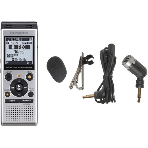 Olympus WS-852 Digital Voice Recorder and