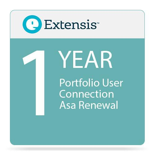 Extensis Portfolio User Connection Priority Annual