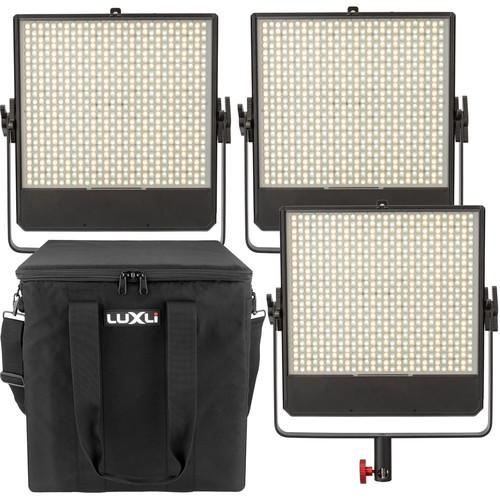Luxli Timpani 1x1 RGBAW LED 3-Light