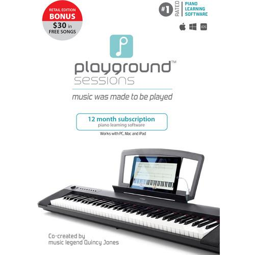Rising Software Playground Sessions Piano Learning