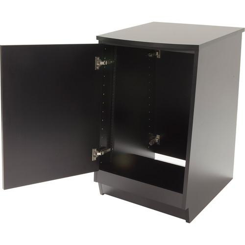 Argosy Spire Rack Plus Package Single-Bay Enclosure with Solid Front Door