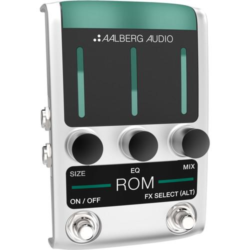 Aalberg ROM RO-1 Reverb Pedal with