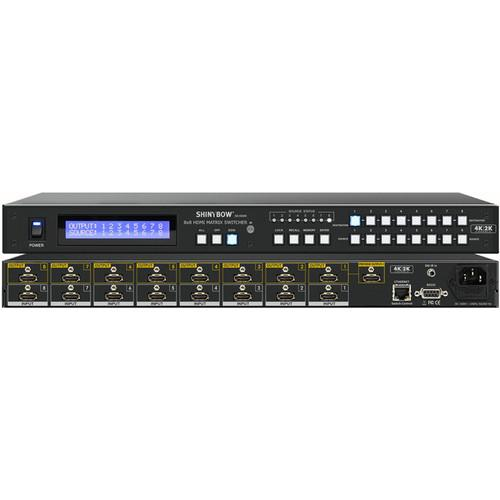 Shinybow SB-5688Kp 8x8 HDMI Matrix Routing