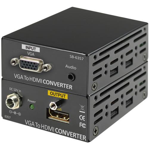 Shinybow VGA Audio to HDMI Converter