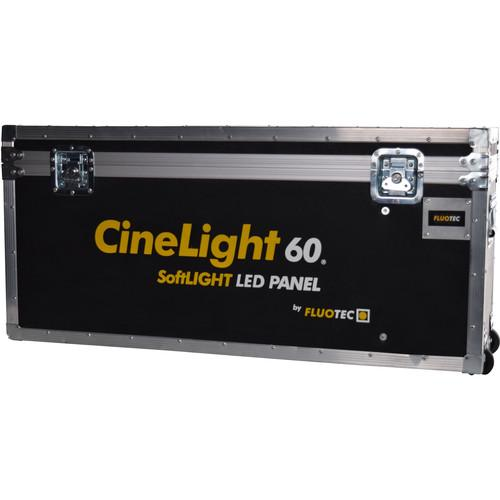 Fluotec Wheeled Flight Case for CineLight