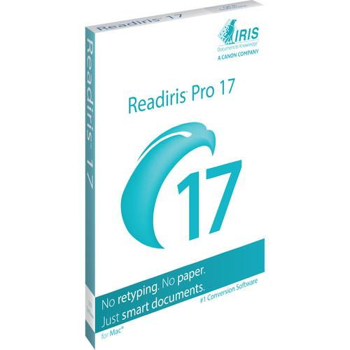 IRIS Readiris Pro 17 Mac Download